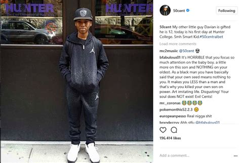 50 Cent Publicly Disowns Oldest Son Marquise   Baby Mama