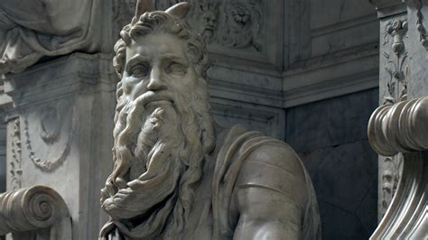Michelangelo, Moses, and the Tomb of Pope Julius II - YouTube