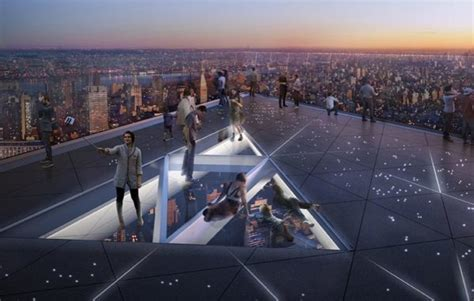Edge, the new Observatory of New York City at Hudson Yards