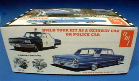 McQueen Scale Model Cars - '63 Ford Galaxie