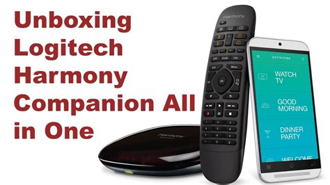 Unboxing Logitech Harmony Companion All in One Remote