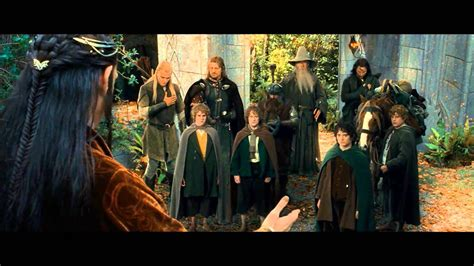 Fellowship Of The Ring ~ Extended Edition ~ The Ring Goes