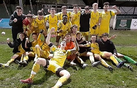 Nantwich Town Youth team books place in FA Youth Cup First