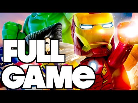 LEGO Marvel Super Heroes - FULL GAME Complete Gameplay