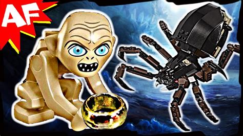 GOLLUM & SHELOB Attacks 9470 Lego Lord of the Rings Set