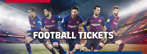 All about Tickets - FC Barcelona
