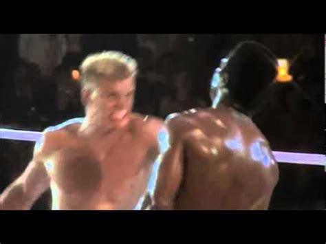 Apollo Creed Gets Punched to Death by Ivan Drago in Rocky