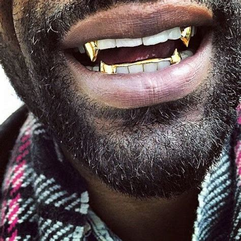 fangs grillz - Google Search - mens white gold jewelry