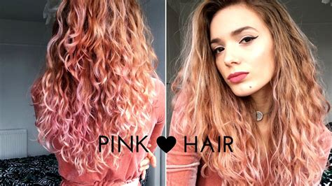 L'Oreal Colorista Washout    #Pink Hair - YouTube