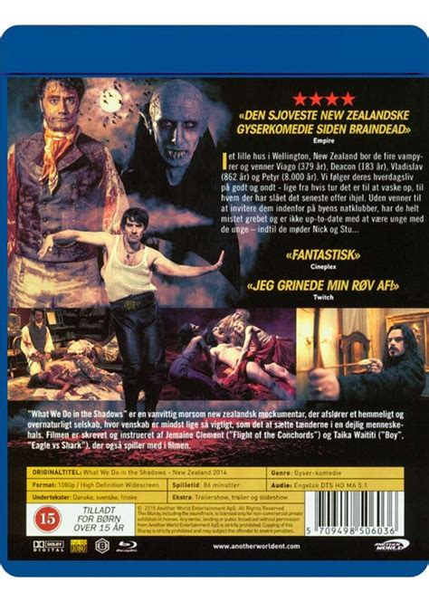 What We Do In The Shadows | Blu-Ray Film | Dvdoo