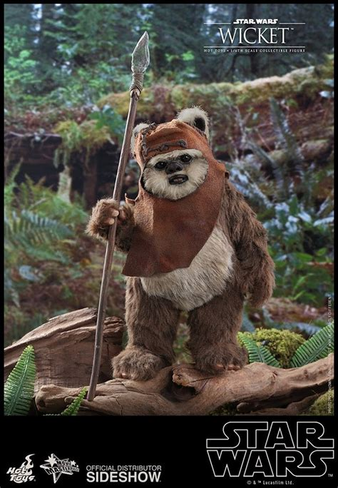 Hot Toys Star Wars Return Of The Jedi Wicket The Ewok 1/6