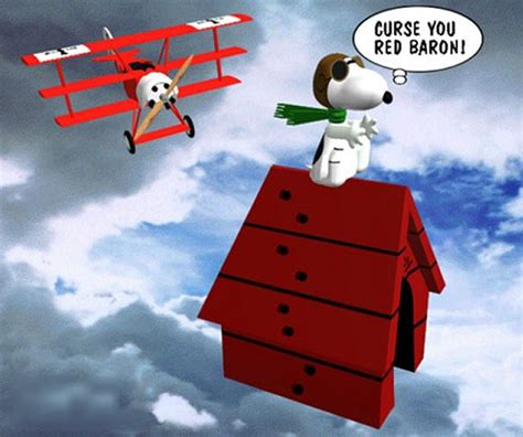 Snoopy and the Red Baron by Konley Kelley