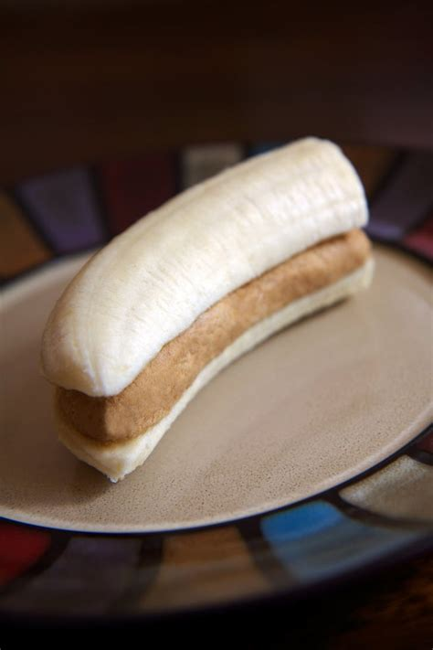 High-Protein Banana and PB Snack   Low-Calorie Vegan
