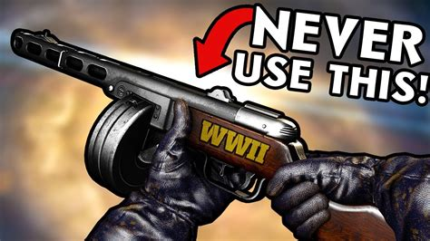 5 Weapons You Should NEVER Use in WW2 Zombies ~ Call of
