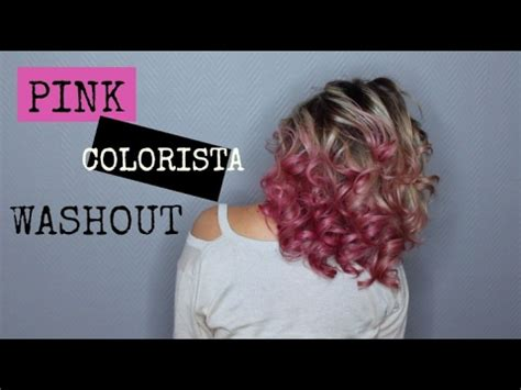 Coloration Dirty Pink COLORISTA WASHOUT L'Oréal - YouTube