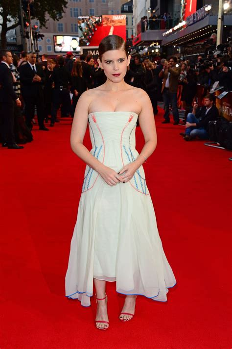 KATE MARA at The Martian Premiere in London 09/24/2015