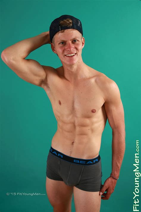 Fit Young Men Greg Hill just 22 years old stripping down