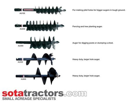 AGMAX PD POST HOLE DIGGER + AUGER - STANDARD for sale