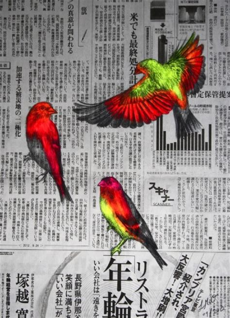 Neon Animal Drawings & Paintings by Louise McNaught