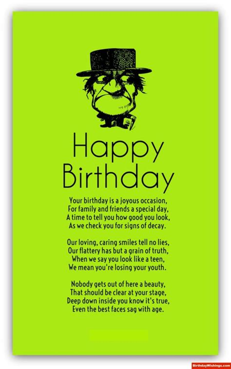 Old Age Birthday Poems | Poems For Old Persons on Their