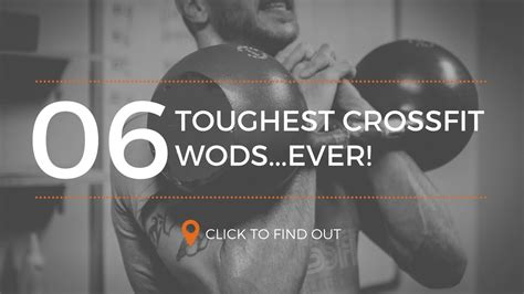 [TOP 6] Toughest CrossFit WODS Ever! - YouTube