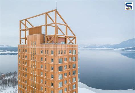 Norway Constructs The Worlds Tallest All Timber Building