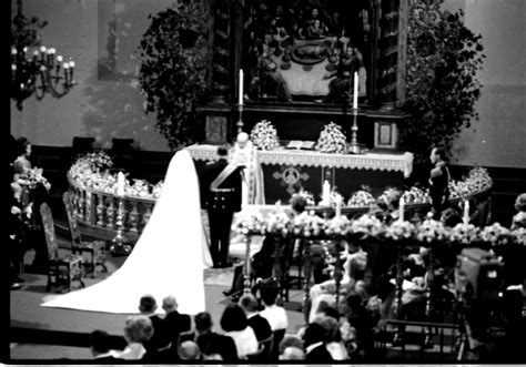Royal Wedding Rewind: King Harald and Queen Sonja of