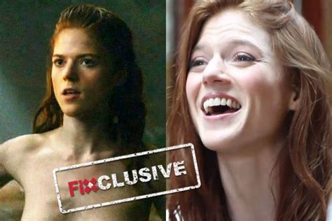 EXCLUSIVE! Ygritte from Game of Thrones on her famous sex