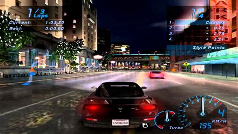 Need for Speed: Underground 1 Gameplay PC (Max Settings