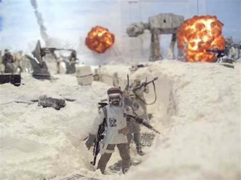 Guy Recreates Battle Of Hoth (Complete With Explosions) In