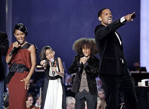 Hairstyles of Will Smith's kids, Willow and Jaden, rock