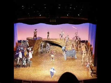 The Lion king musical London lyceum theatre - YouTube