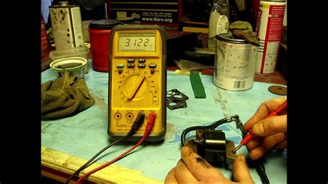 Ignition Coil Testing with ohm meter for small engines