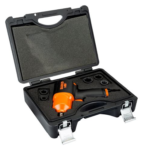 """1/2"""" Square Drive Impact Wrench Set with 5 Metric Sockets"""