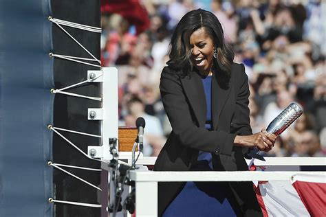 As first lady, Michelle Obama charted her own course