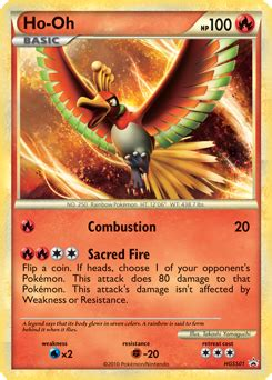 Ho-Oh-EX | Black & White—Dragons Exalted | TCG Card