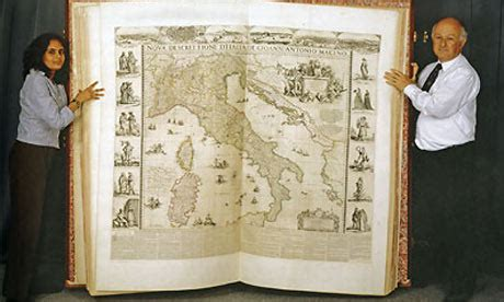 Klencke Atlas - The Largest Book in the World - Neatorama