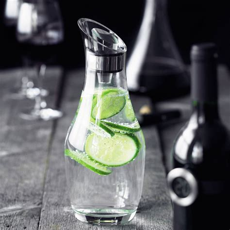 Menu Carafe by Jakob Munk with Limes - Delivery in Belgium