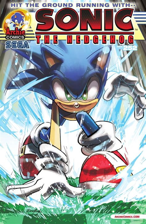 Archie Sonic the Hedgehog Issue 252   Sonic News Network