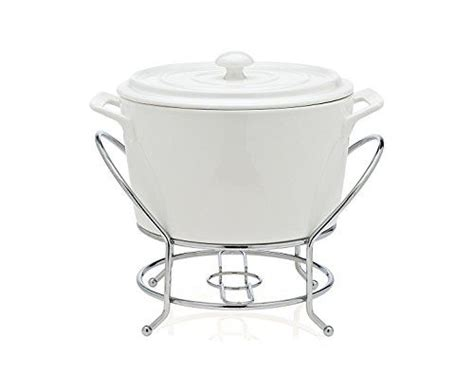 Classy Porcelain Chafing Dish Warmer ~ the Perfect Single