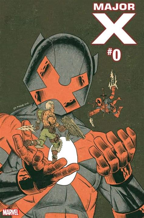 Marvel Comics Major X #0 Gets A Tease With Spoilers Plus A