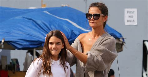 Katie Holmes Tries to Wake Up Daughter Suri With a 'Dance