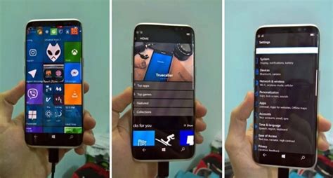 No, this is not a Samsung Galaxy S8 running Windows 10