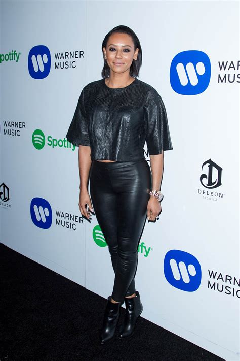 Mel B at the Warner Music Group's 2015 Grammy after party