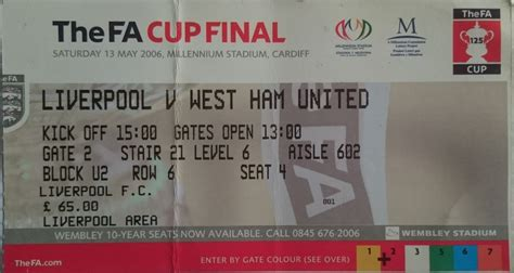 Matchdetails from Liverpool - West Ham United played on