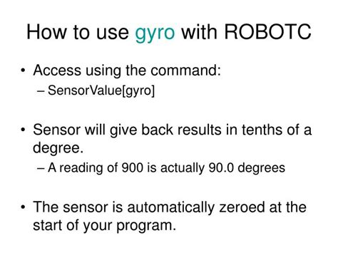 PPT - Accelerometers and Gyros PowerPoint Presentation