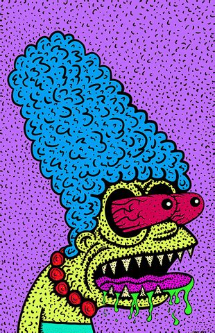 Marge Simpson Weed GIF by Dave Bell - Find & Share on GIPHY