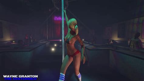 Video Game Ambience Asmr - Front row at strip club - YouTube