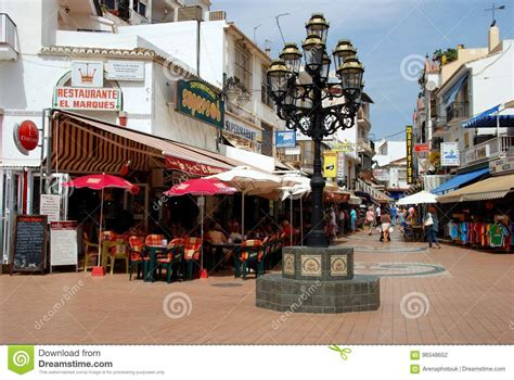 Town Centre Shops And Cafes, Torremolinos