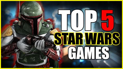 Top 5 Star Wars Games - YouTube